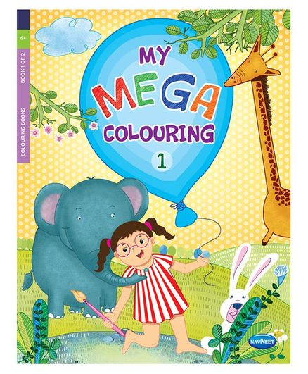 My Mega Colouring Book 1 - English
