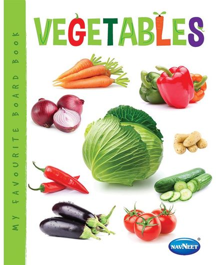 My Favourite Board Book Vegetables - English