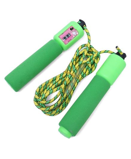 Ratnas Wonder Count Skipping Rope - 280 cm (Rope Color May Vary)
