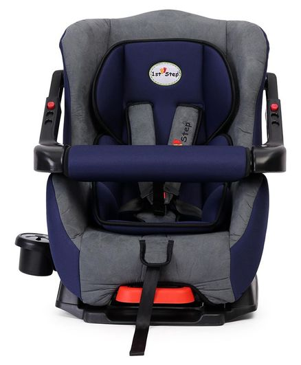 1st Step Convertible Car Seat With 5 Point Safety Harness Blue Online in  India, Buy at Best Price from Firstcry com - 2835895