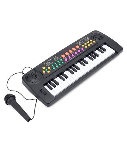 Keyboard With 37 Key Synthesizer Black & White Online India, Buy Musical  Instruments for (5-10 Years) at FirstCry com - 2840787