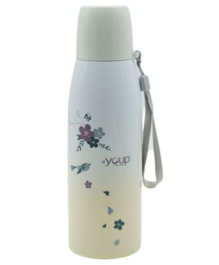Youp Thermosteel Flip Open Lid Flask Grey 500 ml Online in India, Buy at  Best Price from Firstcry com - 2842338