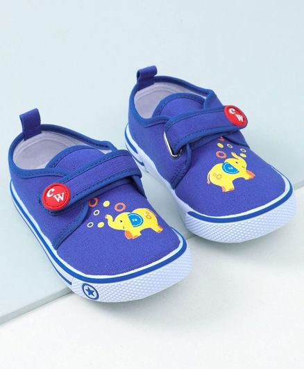 8dbcb3359d0 Buy Cute Walk by Babyhug Casual Shoes Elephant Print Blue for Boys (12-18  Months) Online, Shop at FirstCry.com - 2846329