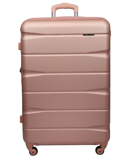 ff238e2f89f1 Gamme Elle Polycarbonate HardSided Trolley Luggage Bag Rose Gold Online in  India, Buy at Best Price from Firstcry.com - 2846659