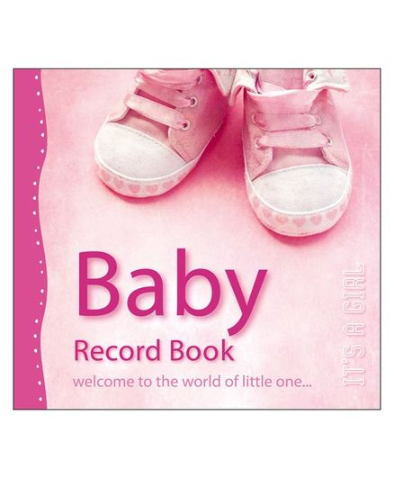 Baby Record Book It's A Girl - English
