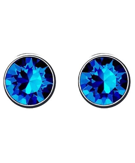 41b1501784de1 Angel Glitter Single Stone Stud Earrings Blue Online in India, Buy at Best  Price from Firstcry.com - 2850580
