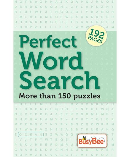 Perfect Word Search Puzzle Book - English