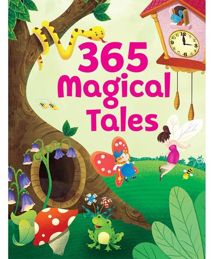 365 Magical Tales Story Book - English