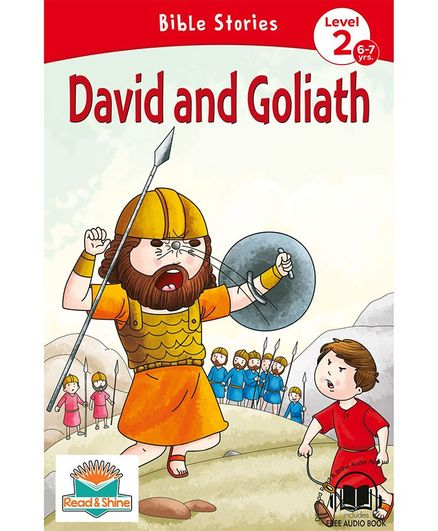 David and Goliath Bible Stories With Audio Book - English