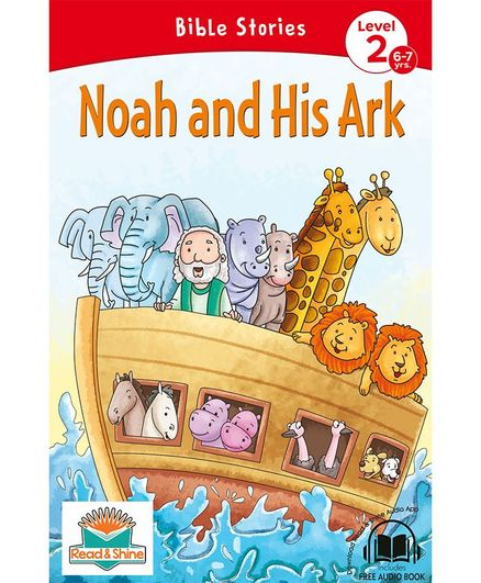 Noah and His Ark Bible Stories With Audio Book - English