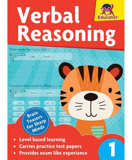 Verbal Reasoning Grade 1 Book English Online in India, Buy at Best Price  from Firstcry com - 2854301