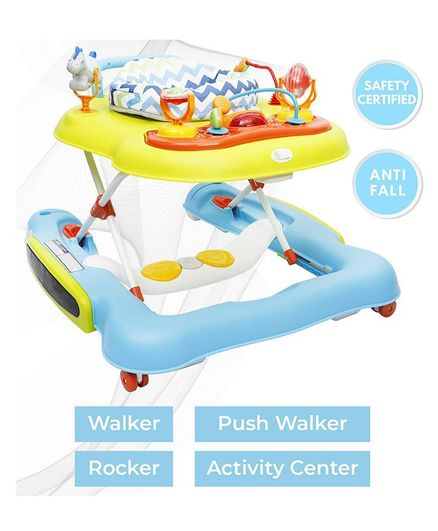 R for Rabbit Tik Tok Musical Baby Walker - Multicolor