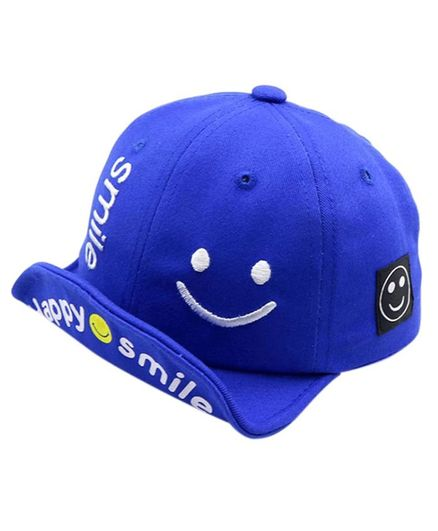 06f802b03 Ziory Smiley Patch Denim Baseball Cap Blue Online in India, Buy at ...