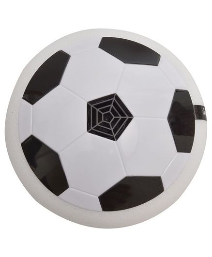 Magic Pitara Air Football With LED Lights & Music - White & Black