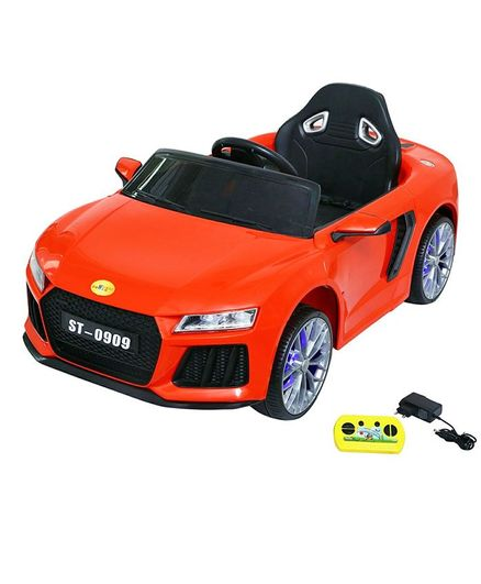 Wheel Power Baby Battery Operated Ride On Audi Sports Car - Red