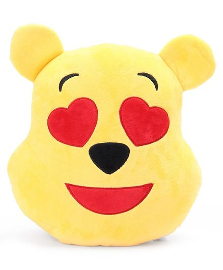 Pooh In Love Emoji Face Plush Yellow 13 Inches Online in India, Buy at Best  Price from Firstcry com - 2872761