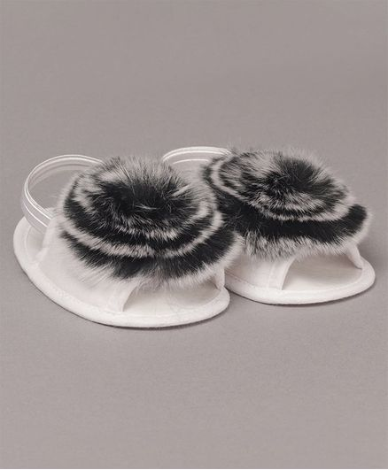 c40bd4ea8006e Buy Daizy Faux Fur Booties Black for Girls (12-18 Months) Online, Shop at  FirstCry.com - 2872858