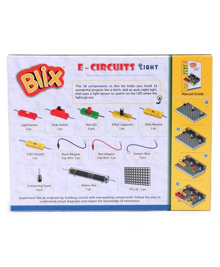 Zephyr Blix E Circuits Light 1 Kit Multicolor Online India, Buy Building &  Construction Toys for (6-14 Years) at FirstCry com - 2883805