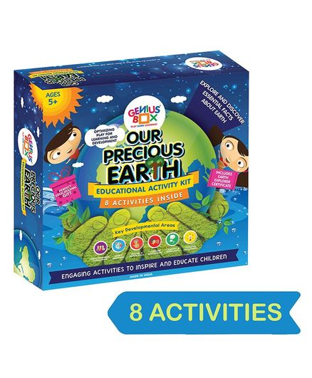 Genius Box Precious Earth DIY Educational Activity Kit