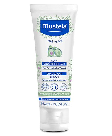 Mustela Cradle Cap Scalp Cream - 40 ml