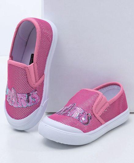 Babyhug Canvas Casual Shoes - Pink