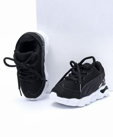 Cute Walk by Babyhug Sport Shoes - Black