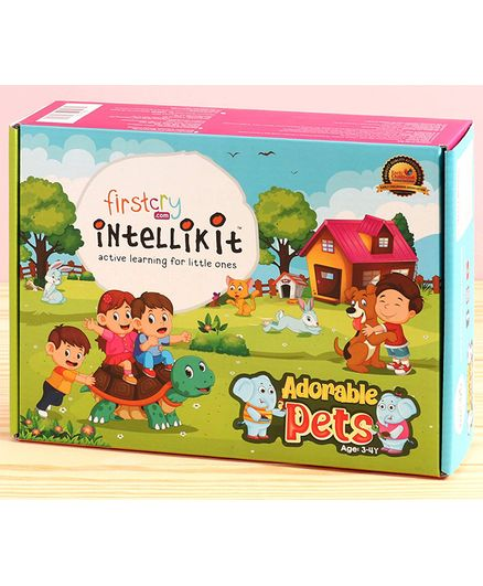 FirstCry Intellikit Adorable Pets Kit (3-4Y)