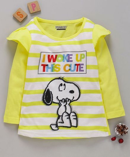 6-9 months Baby Boys T-Shirt Top Official Snoopy