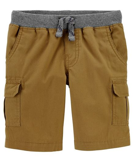 Carter's Pull-On Cargo Shorts - Brown