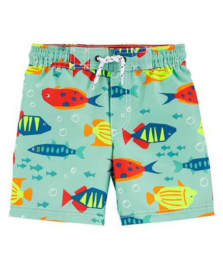 Carter's Fish Swim Trunks - Blue