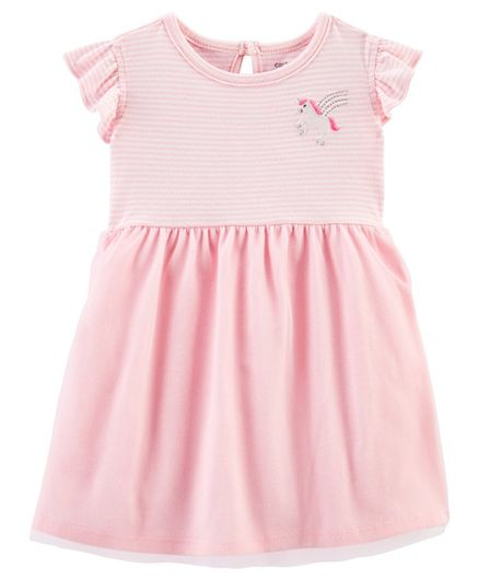Carter's Unicorn Ballerina Tutu Dress - Pink