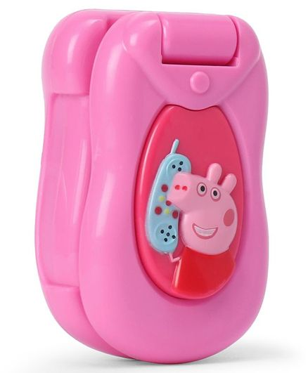 Peppa Pig Flip Learn Musical Mobile Phone Pink Online India Buy Musical Toys For 6 18 Months At Firstcry Com 2925281