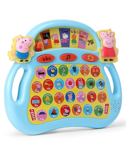 Peppa Pig Laugh & Learn Alphaphonics Tablet - Blue