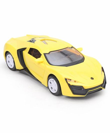 Friction Car Toy - Yellow