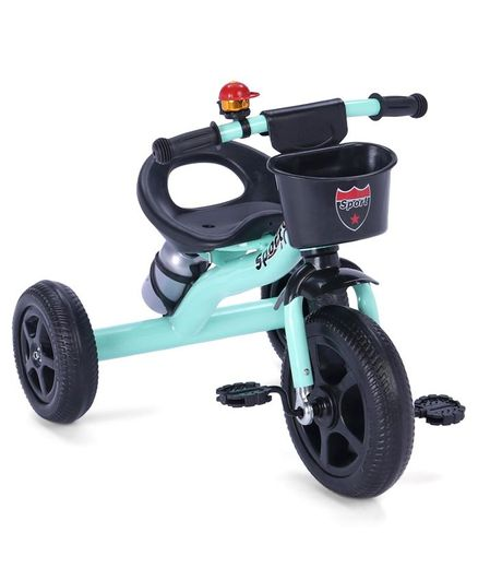 Tricycle With Water Bottle - Mint