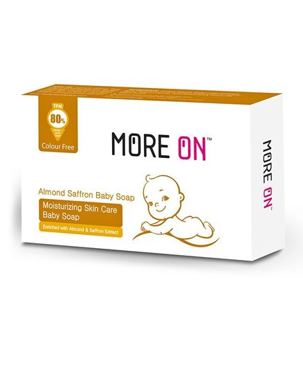 More On Healthy Glow Skin Care Baby Soap 125 gm - White