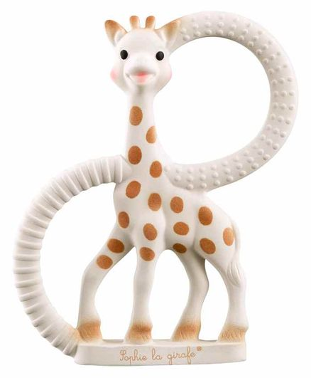 Sophie la Girafe So'pure Teething Ring - White