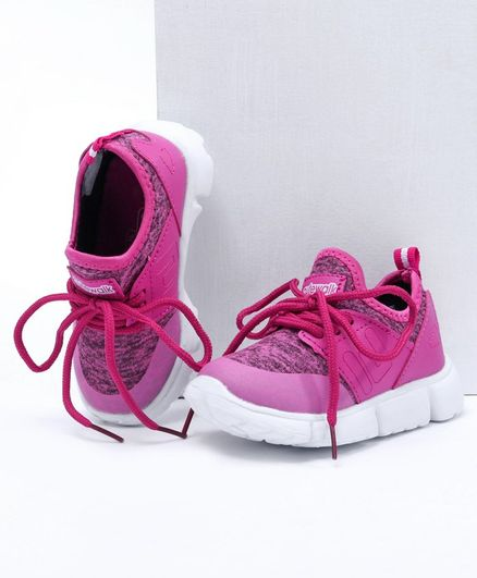 Cute walk by Babyhug Sports Shoes - Pink