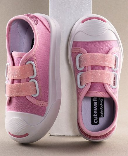 Cute Walk by Babyhug Casual Shoes - Light Pink