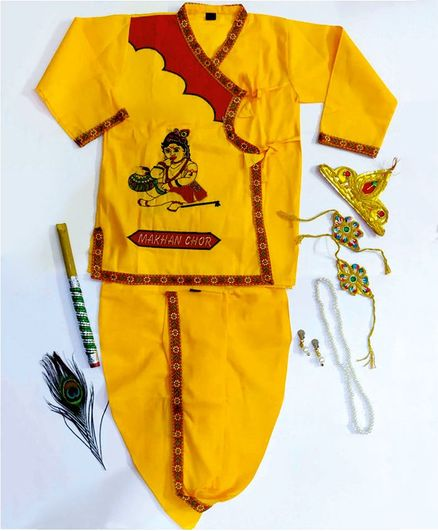 Sakhyam Krishna Cotton Makhan Chor Embroidery Costume 20 No.