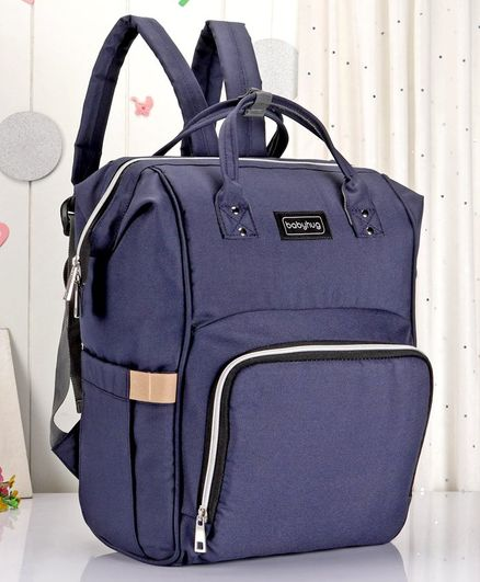 Babyhug Backpack Style Diaper Bag - Blue