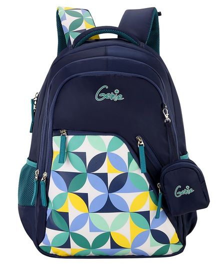 Genie Spray Backpack Blue - 19 Inches