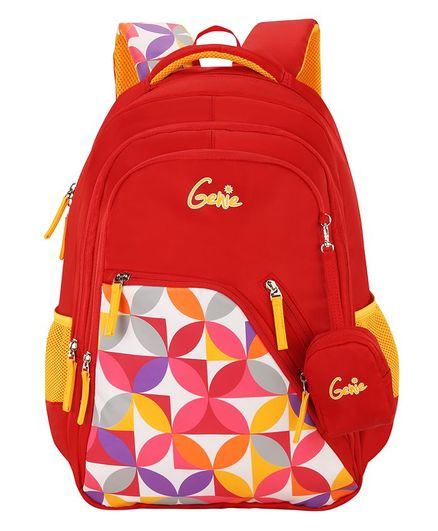 Genie Spray Backpack Red - 19 Inches