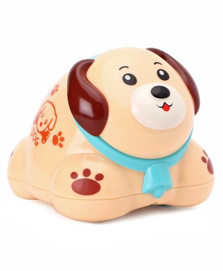 Friction Cartoon Dog Toy - Brown