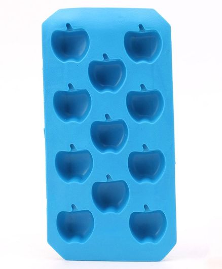 Apple Shaped Ice Cube Tray - Blue