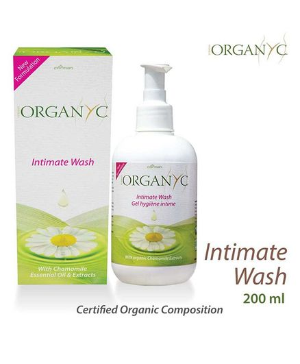 Organ(y)c Feminine Intimate Hygiene Wash - 200 ml
