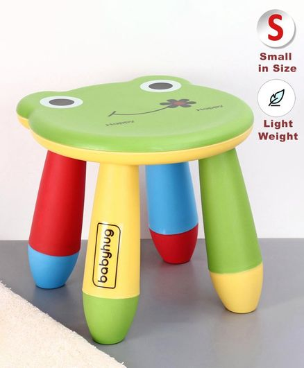 Babyhug Stool Frog Design - Green