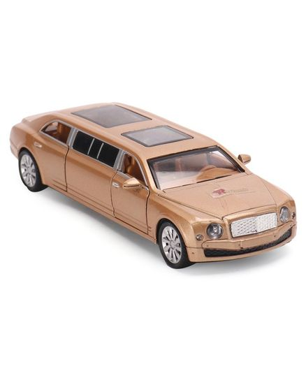 Ramson Pull Back Toy Car - Golden