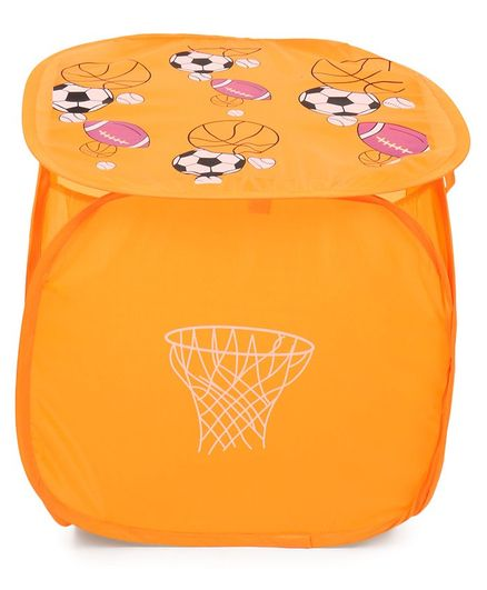 Laundry Bag Ball Print Orange Online In India At Best Price From Firstcry 3080385