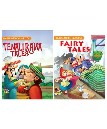 Tenali Rama & Fairy Tales Story Books Combo Collection - English